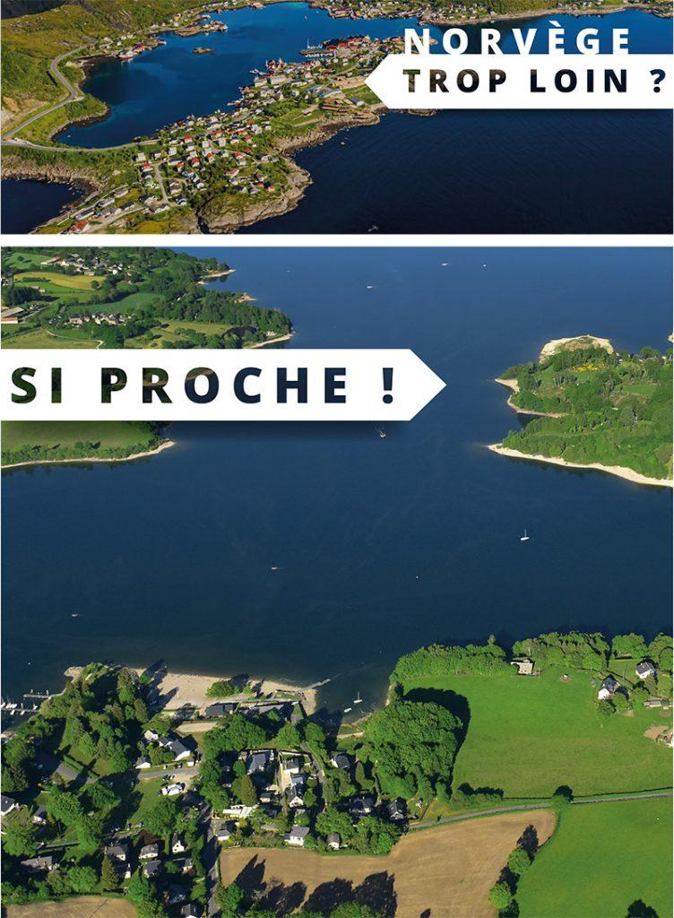 Norvège trop loin ? Lac de Pareloup si proche !