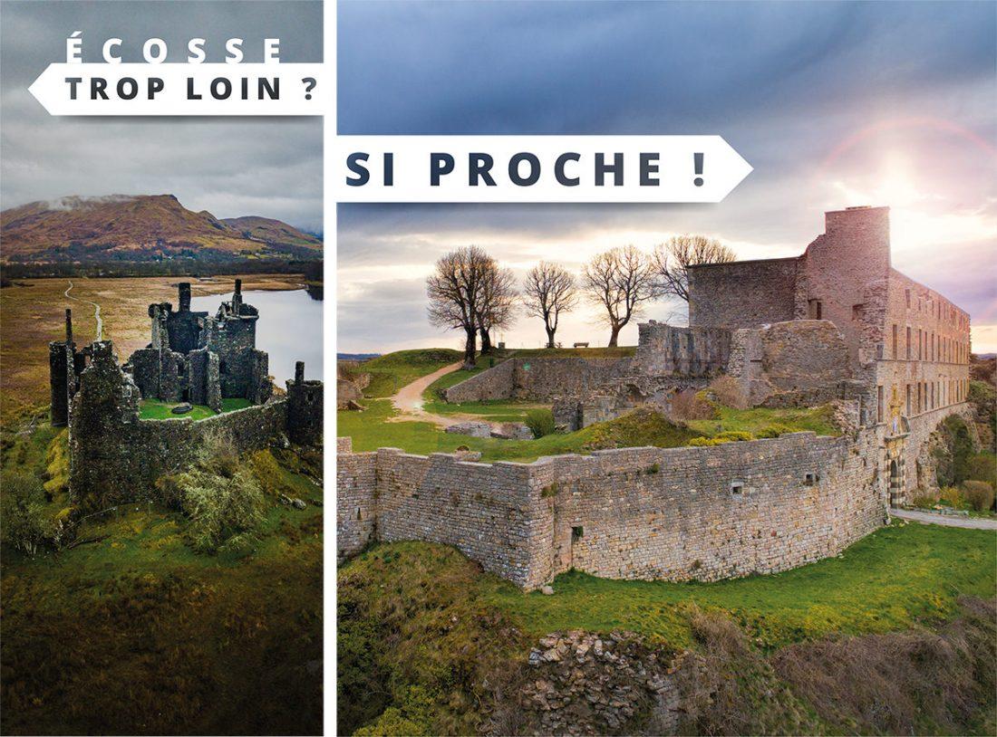 Ecosse trop loin ? Sévérac d'Aveyron si proche !