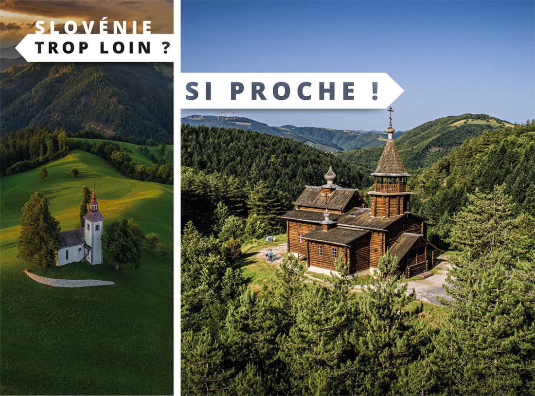 Slovénie trop loin ? Eglise Russe Sylvanès si proche !